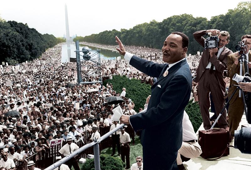 Martin Luther King - Nhà hoạt động dân quyền người Mỹ gốc Phi nổi tiếng. (Ảnh: Imgur)