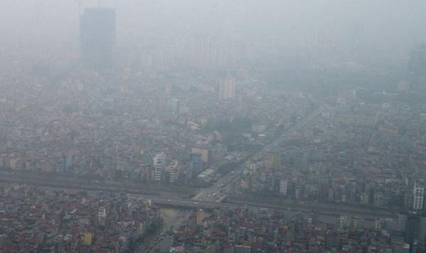 """Không khí ô nhiễm của Hà Nội từng được ví với """"khí quyển ngày tận thế""""."""