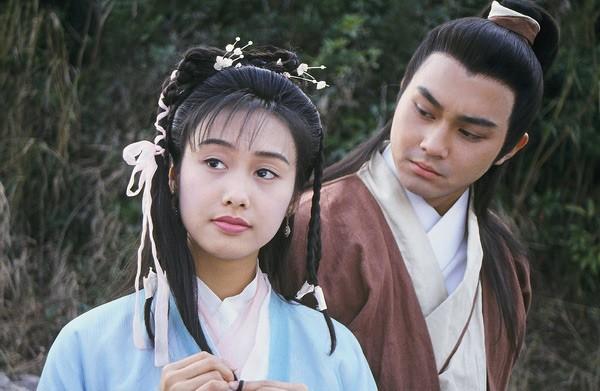Chu Ân trong vai Hoàng Dung trong Anh Hùng Xạ Điêu