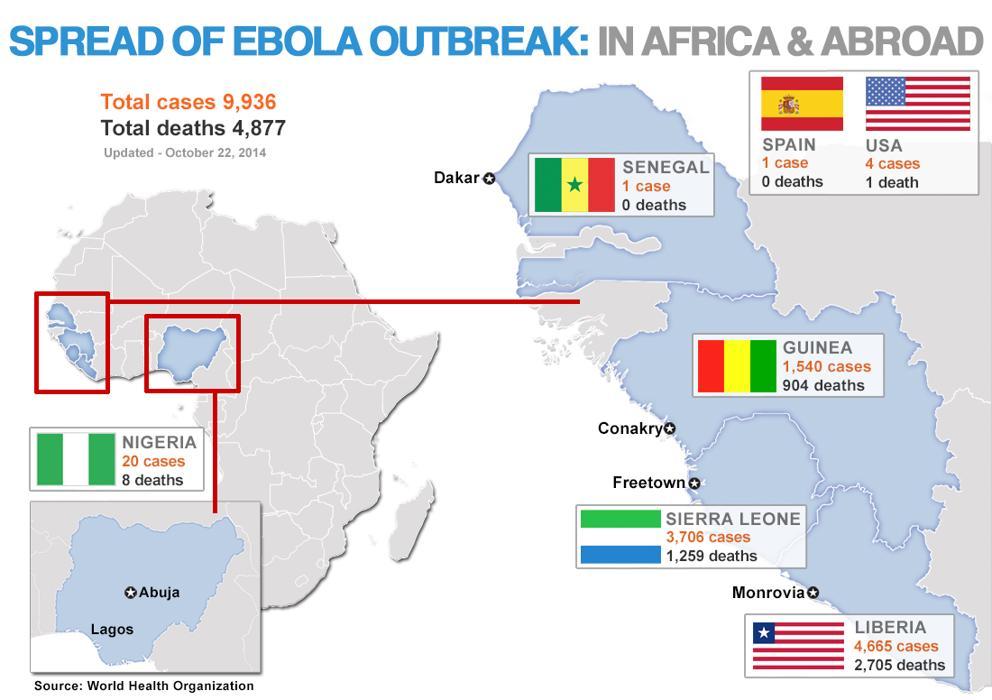 map Ebola