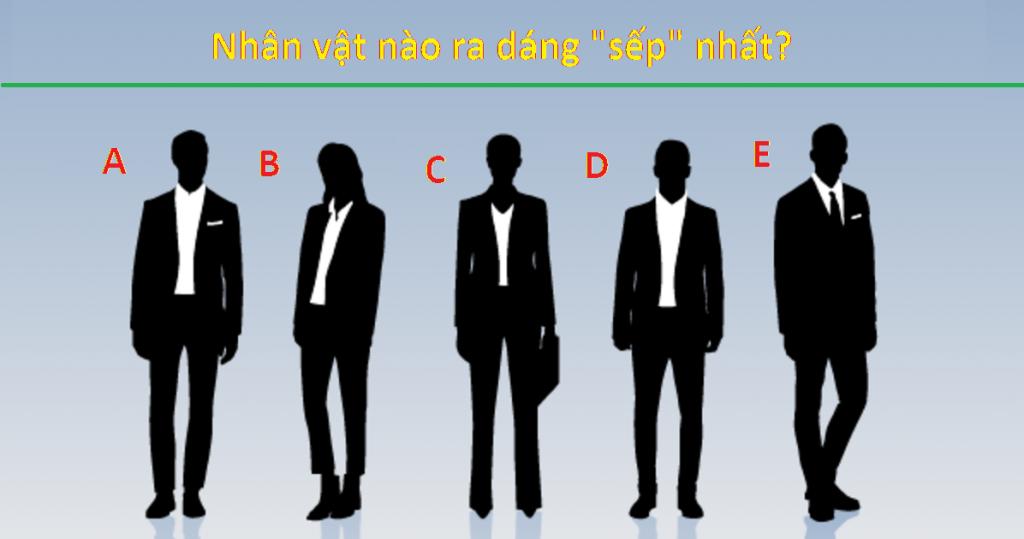 """Trắc nghiệm tính cách chuẩn xác: Nhân vật nào ra dáng """"sếp"""" nhất?1"""