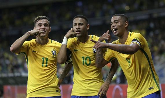 Brazil có thể là đội giành vé dự vòng chung kết sớm nhất tại khu vực Nam Mỹ.