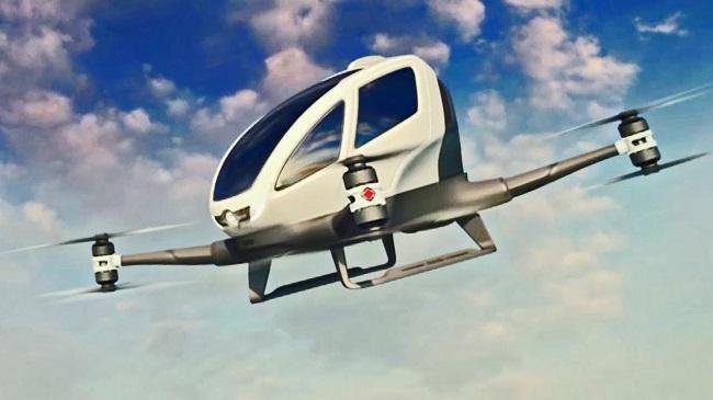 Dubai sắp vận hành taxi bay Trung Quốc sản xuất. 1