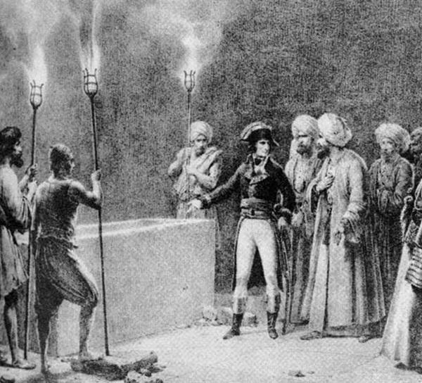 Napoleon từng tới rất nhiều nơi ở châu Á.