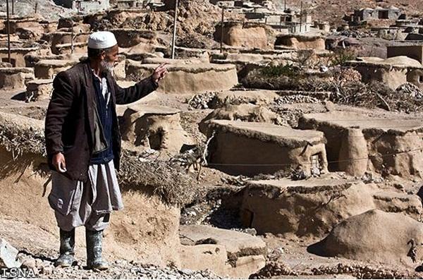 Toàn cảnh Thành phố của Người lùn Makhunik ở Iran. Bấm vào ảnh để phóng to. (Ảnh: Internet).