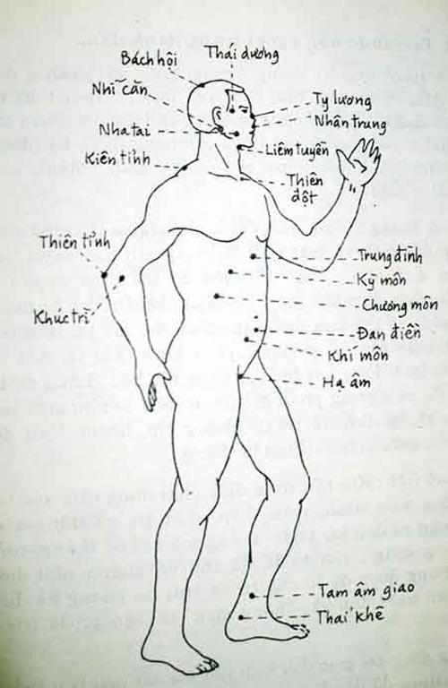 Người xưa dạy 2 huyệt đạo bí truyền đánh thức khí lực vô hình của cơ thể - H1