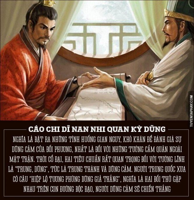 Những câu nói hay nhất của Khổng Minh.6