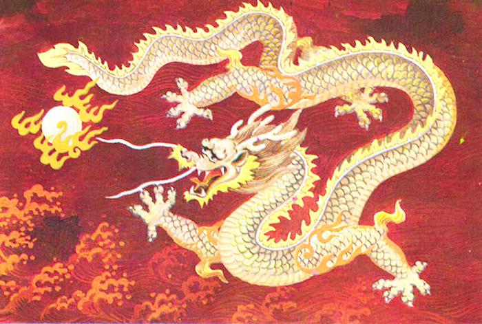 Rồng là con vật quan trọng và mạnh mẽ nhất trong vòng hoàng đạo Trung Quốc. (Ảnh: Internet)