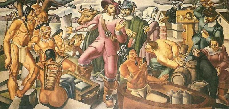 """Bức tranh người đàn ông sống ở thế kỷ 17 đã cầm trên tay """"điện thoại thông minh"""". (Ảnh: The Sun)"""