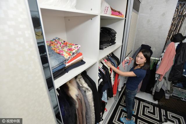 Cô gái 9X dự định sẽ mở công ty chuyên gấp quần áo phục vụ khách hàng bận rộn.