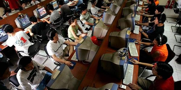Một quán Inernet tại Trung Quốc. (Ảnh: internet)