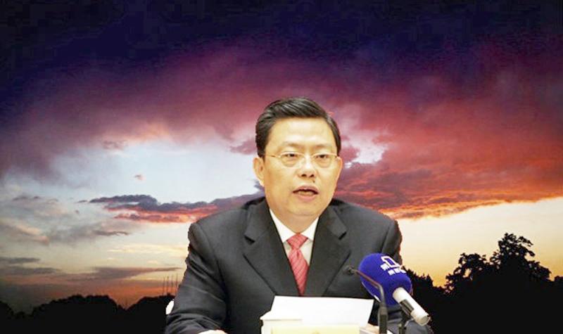 Tân Bí thư Ủy ban Kiểm tra Kỷ luật Trung ương Triệu Lạc Tế. (Ảnh: NTDTV)