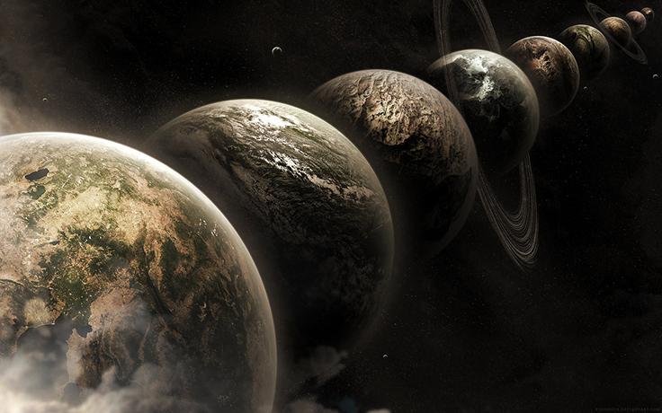 Bên cạnh Trái Đất hiện tại, còn có vô số Trái Đất khác đang tồn tại cùng chúng ta