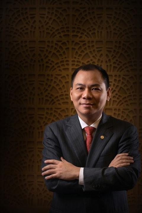 Ông chủ Tập đoàn Vingroup Phạm Nhật Vượng. (Ảnh: Fosbes)