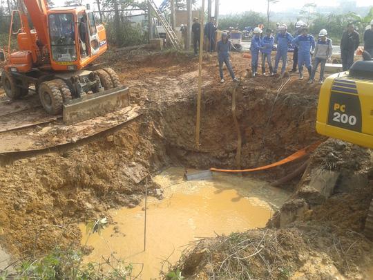 Đường ống nước sạch sông Đà số 1 vỡ 17 lần, buộc TP Hà Nội phải chỉ đạo Viwasupco xây dựng đường ống nước sạch sông Đà số 2.