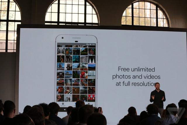 Google cung cấp kho lưu trữ ảnh và video miễn phí, không giới hạn