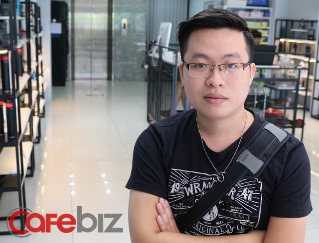 """CEO Nguyễn Huy Hoàng của startup 30Shine khẳng định: """"Trong tương lai, nghề tóc của người Việt sẽ còn vươn tầm quốc tế nếu phát triển đúng hướng""""."""
