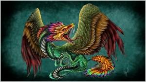 Tác phẩm nghệ thuật miêu tả Quetzalcoatl