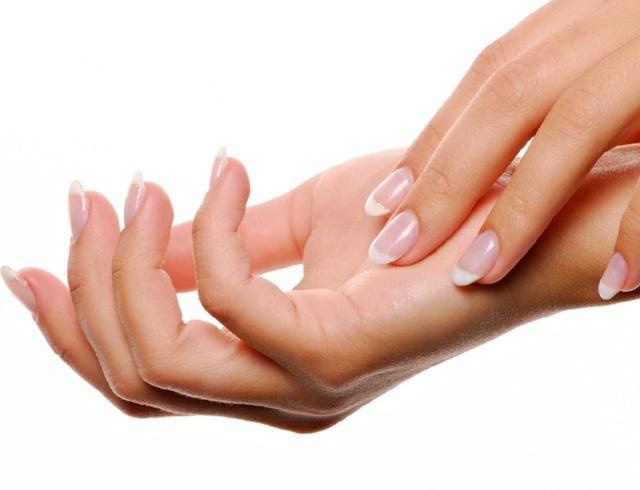 Bàn tay có hình vuông