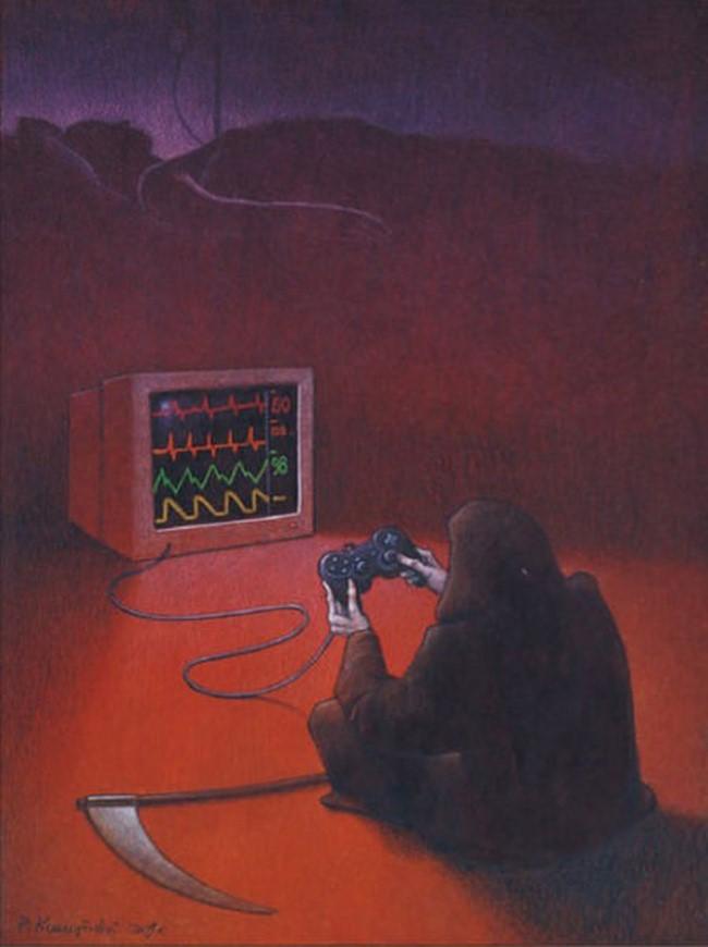 Những kẻ khủng bố giống như thần chết, coi mạng sống của con người như trò chơi điện tử.