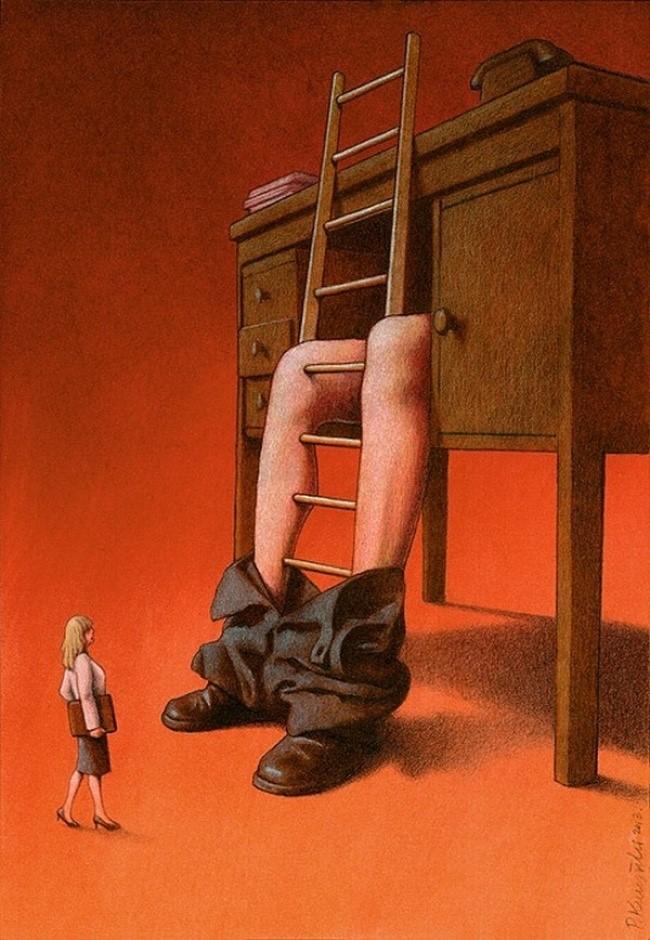 Phụ nữ hiện đại phải đối mặt với nhiều khó khăn và cám dỗ trên nấc thang sự nghiệp.