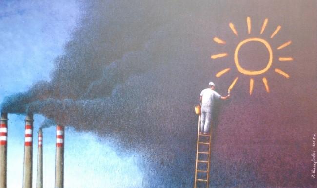 Trái Đất đang bị ô nhiễm nặng nề là điều không thể phủ nhận, dù con người có tìm mọi cách để tô vẽ hay che giấu sự thật đó.