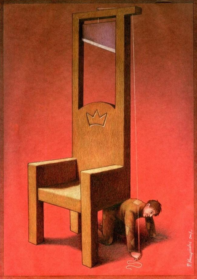 Những người nghèo khổ có thể chống đỡ nhưng cũng có thể lật đổ quyền lực, địa vị của kẻ bề trên.