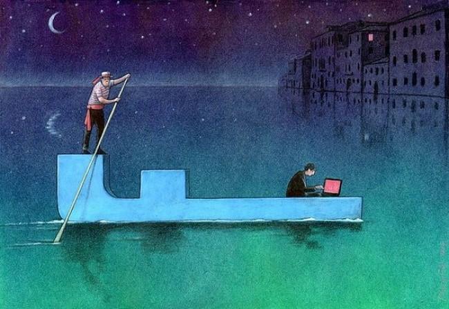 Mạng xã hội là phương tiện giúp con người tìm kiếm bạn đời xuyên không gian và thời gian.