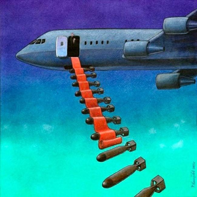 Con đường thành công của nhà độc tài được trải bằng chiến tranh và vũ khí quân sự.