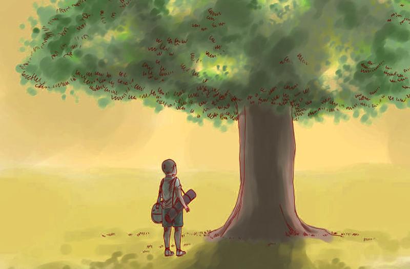 Con người có thể sống được một ngày, chính là đã có phúc khí, cần quý trọng. (Ảnh: Wikihow)