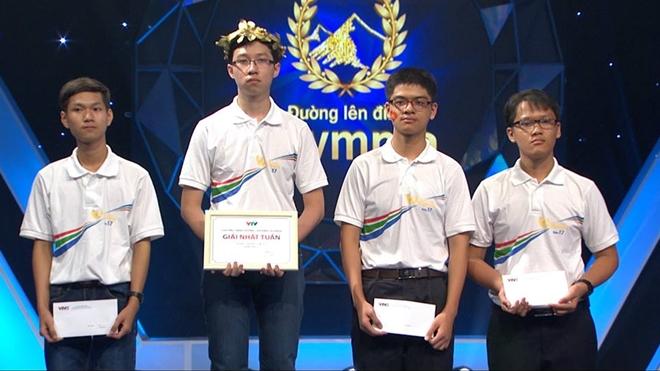 Nhật Minh cho biết cảm thấy hơi tiếc nuối vì vẫn chưa thể phá vỡ kỷ lục của chương trình và khẳng định sẽ cố gắng để đạt được mục tiêu này trong vòng thi quý. (Ảnh: Internet)