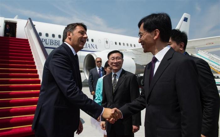 Thủ tướng Italia xuống Hàng Châu