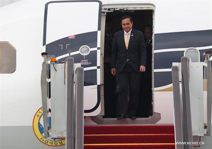 Thủ tướng Thái Lan xuống Hàng Châu