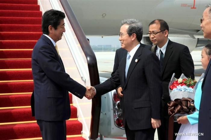 Thủ tướng Nhật xuống Hàng Châu