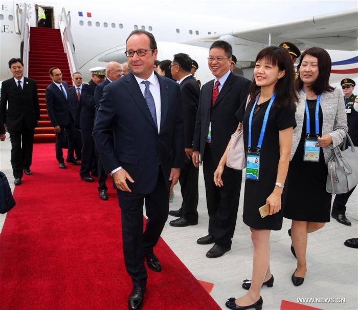Tổng thống Pháp xuống Hàng Châu