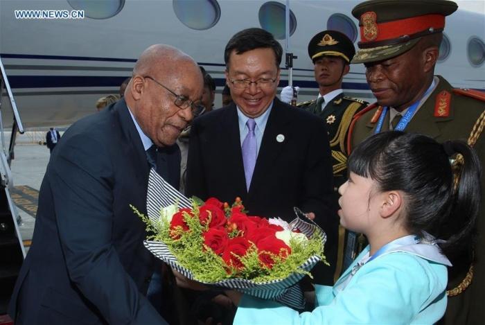 Tổng thống Nam Phi xuống Hàng Châu