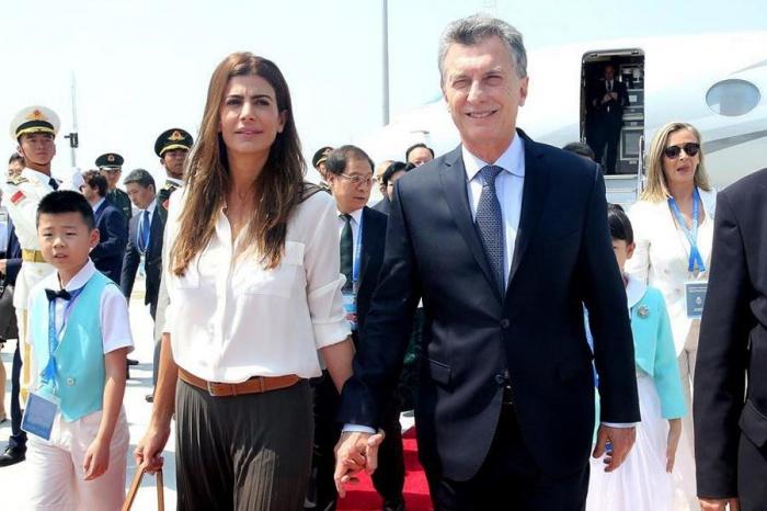 Tổng thống Argentina cùng phu nhân.