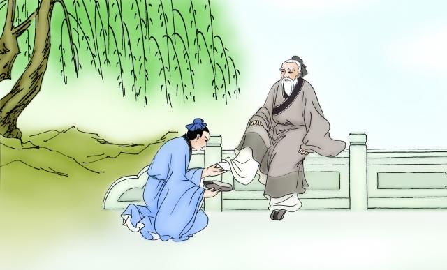 Trương Lương nhặt giày đắc đạo