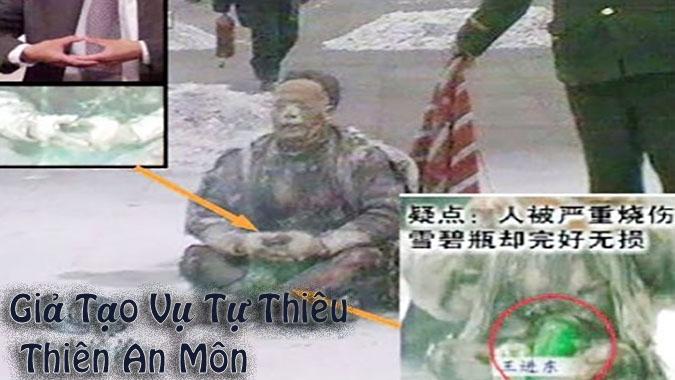 Tự thiêu giả ở Thiên An Môn: Vết nhơ khó xóa của chính quyền Trung Quốc