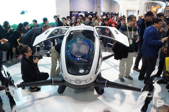 Dubai sắp vận hành taxi bay Trung Quốc sản xuất - H4