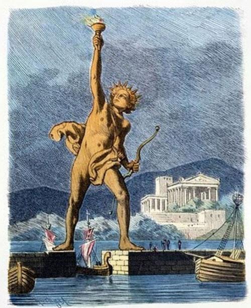 Do thiếu những kiến thức đáng tin cậy nên hiện đang có nhiều ý tưởng khác nhau về việc dựng lại bức tượng khổng lồ thần mặt trời này.