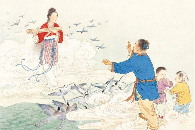 Lễ hội Thất Tịch và chuyện tình tiên phàm Ngưu Lang - Chức Nữ. 7