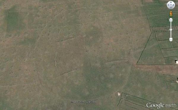 Vòng tròn ở Homs, Syria.