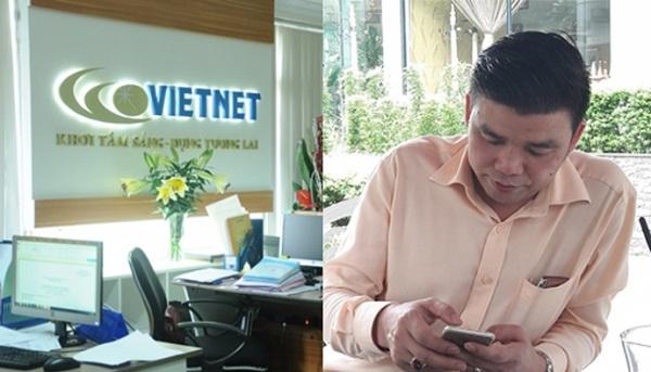 Trùm lừa đảo MB24 Vũ Ngọc Thuyển (phải) bị tuyên 4 năm tù nhưng vẫn điều hành công ty đa cấp Vietnet. (Ảnh: QĐND/Dân trí)