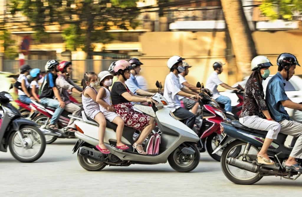Việt Nam thuộc top các quốc gia tiêu thụ nhiều xe máy nhất thế giới.