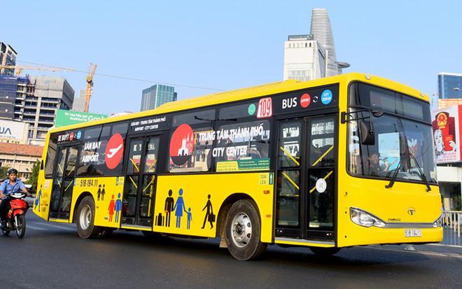 TP.HCM mở tuyến xe buýt 5 sao đi sân bay Tân Sơn Nhất và các bệnh viện lớn.1