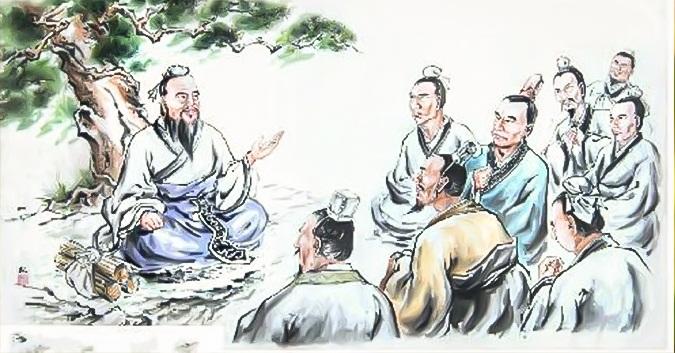 Khổng Tử xử trí với học trò vô lễ. (Ảnh minh họa)