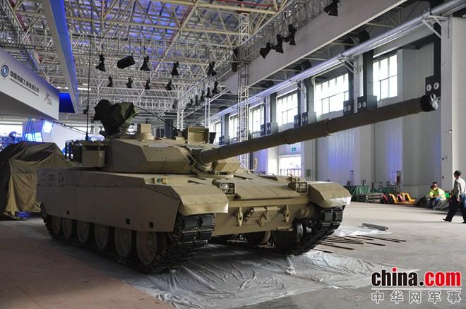 Mẫu xe tăng chiến đấu chủ lực xuất khẩu VT-4.