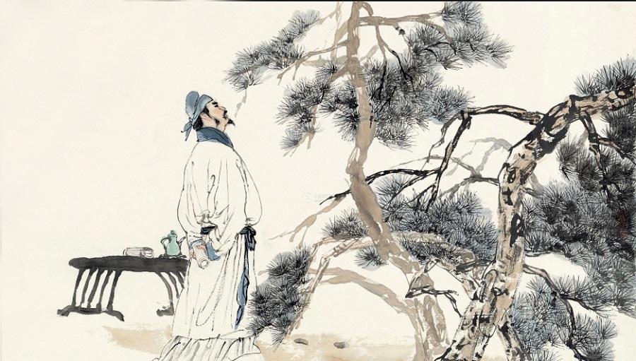 Ánh trăng huyền ảo trong thơ Lý Bạch- H1