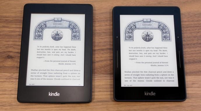 Sự khác nhau giữa Kindle paperwhite 2014 với Kindle Voyage. 3